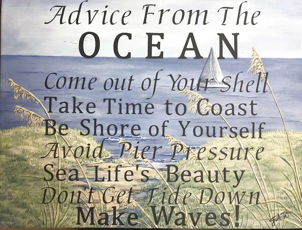 The Hamptons Ocean Sign 1000 x 762